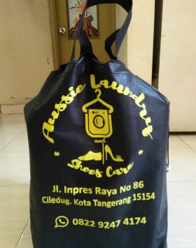 Tas Laundry Aussie Laundry Shoes Care Tangeran Hitam tasspunbond.com