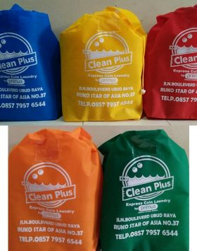 Tas Laundry Clean Plus Laundry Biru Kuning Merah Orange Hijau taslaundry.com