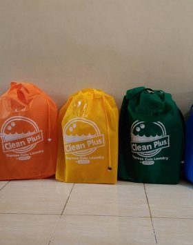 Tas Laundry Clean Plus Merah Orange Kuning Hijau Biru taslaundry.com