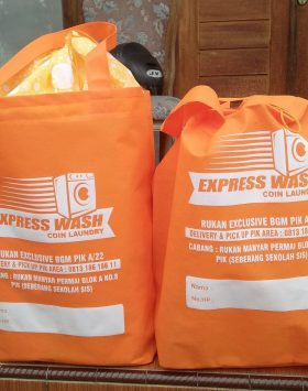 Tas Laundry Express Wash Orange taslaundry.com
