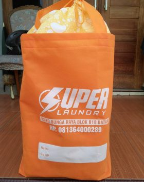 Tas Laundry Super Laundry Orange