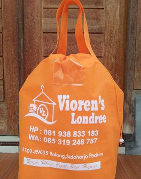 Tas Laundry Vioren's Londree Orange