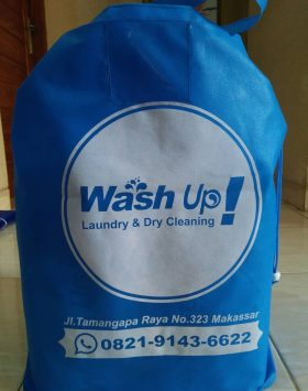 Tas Laundry Wash Up Biru