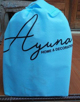 Tas Souvenir Ayuna Home Decoration Biru